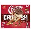 Helado crush brownie 4 unidades Cornetto Frigo