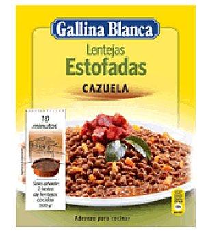 Gallina Blanca Aderezo de lentejas estofadas 48 g