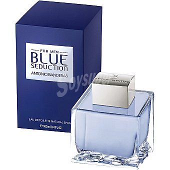 Antonio Banderas Eau de toilette  Blue Seduction masculina  Frasco 100 ml