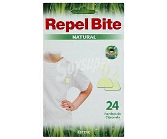 REPEL BITE Natural Parches repelente de insectos natural 24 Unidades