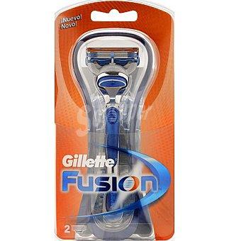 Gillette Maquina afeitar fusion+recarga 1 UNI