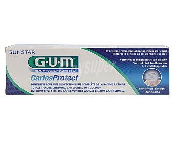 GUM Dentífrico con flúor, vitamina E y provitamina B5 caries protect 125 ml