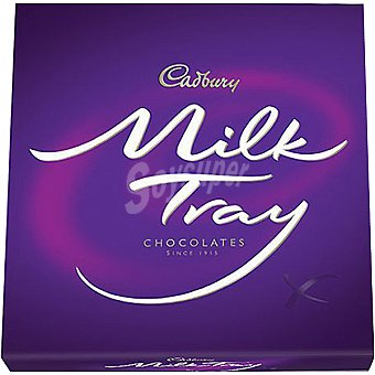 Cadbury Milk tray caja carton 400 GR