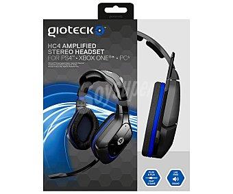 Gioteck Auricular con micrófono HC4 para playstation 4, xbox ONE y PC