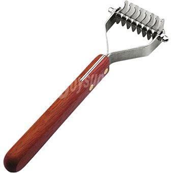 ARTERO COSMETICS Cepillo Super Coat elimina el pelo mudado y nudos en razas de pelo medio/largo 12 hojas 1 unidad 1 unidad