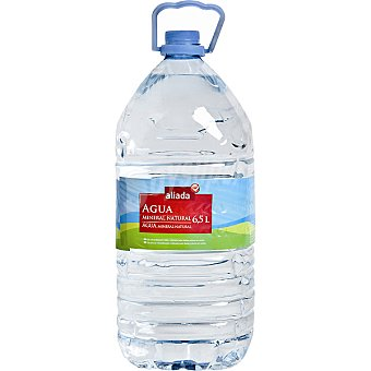 Aliada Agua mineral natural Garrafa 6,5 l