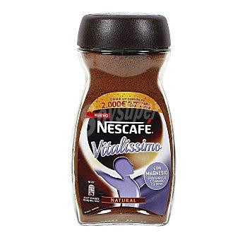 Nescafé Café soluble natural con magnesio Vitalissimo Frasco 200 g