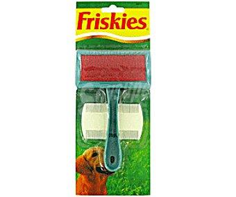 Purina Friskies Cepillo Carda de plastico+peine Antipulgas Cepillo+peine Antipul 1u