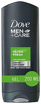 Dove Gel de baño extra fresh for men Frasco 400 ml