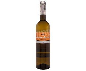 Señorio de Rubios Vino blanco albariño con denominación de origen Rias Baixas botella de 75 cl