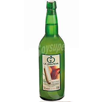 sidra natural botella 75 cl