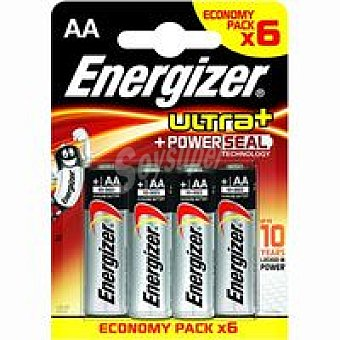 AA ENERGIZER Pila Maxpowerseal E91 Pack 4+2 unid