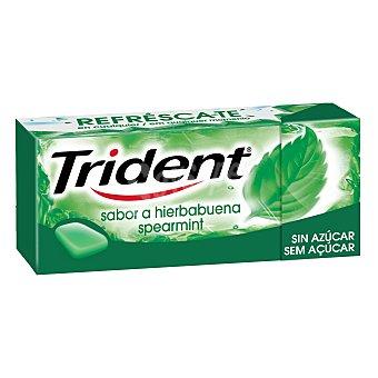 Trident Chicles sabor hierbabuena 14,5 Gramos