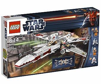 LEGO Juego de Construcción Stars Wars, Clásico Caza Estelar X-Wing Starfighter, Modelo 9493 1 Unidad