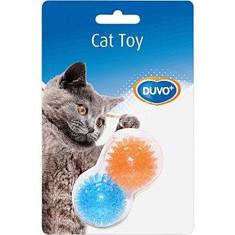 DUVO+ Juguete para gato modelo bola erizo  2 unidades