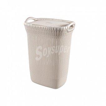 Curver Cesto Ordenación Plástico knit 34 x 45 x 61 cm - Arena 1 ud