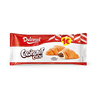 Dulcesol Croissants de cacao Paquete 225 g