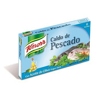 Knorr Caldo de pescado con aceite de oliva virgen extra Envase 8 pastillas