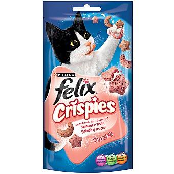 Felix Purina Snack crispies de salmón Paquete 45 g