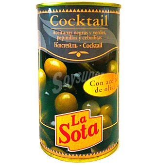 La Sota Aceitunas cocktail 185 G