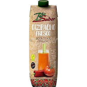 Biosabor Gazpacho fresco ecológico y sin gluten y con aceite de oliva virgen extra Envase 1 l
