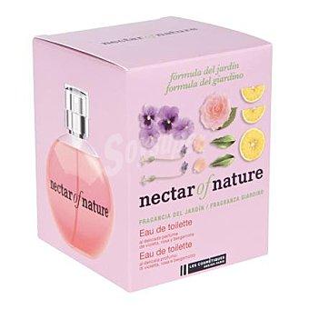 Les Cosmétiques Colonia Fragancia del jardín violeta, rosa y bergamota - Nectar of Nature 100 ml