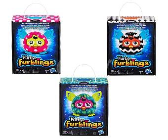 HASBRO Peluche blandito y colorido Furblings de Furby 1 unidad