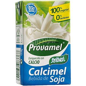SANTIVERI PROVAMEL Calcimel Bebida de soja natural enriquecida con calcio envase mini Brik 25 cl