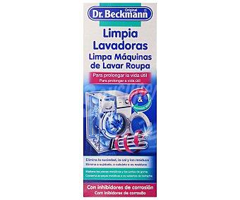 Dr. Beckmann Limpia lavadoras (elimina la cal, la suciedad y los olores) 250 mililitros