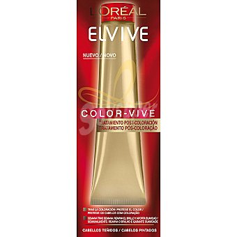 Elvive L'Oréal Paris Color Vive. Tratamiento post-coloración protege el color para cabellos teñidos tubo 40 ml