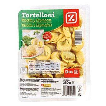 DIA Tortelloni de ricota y espinacas Envase 250 gr