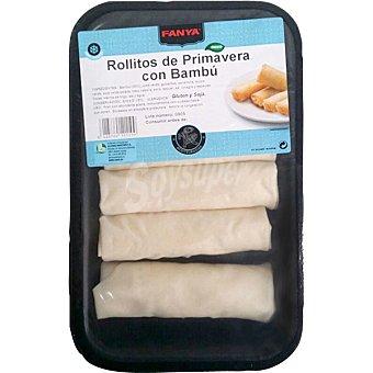 Fanya Rollitos primavera con bambú Bandeja 235 g