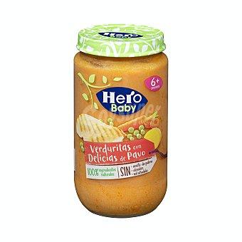 Hero Baby Tarrito de verduritas con delicias de pavo, a partir de 6 meses 235 g
