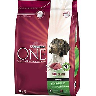 One Purina Alimento para perro de ingredientes de alta calidad con pollo Adult Paquete 3 kg