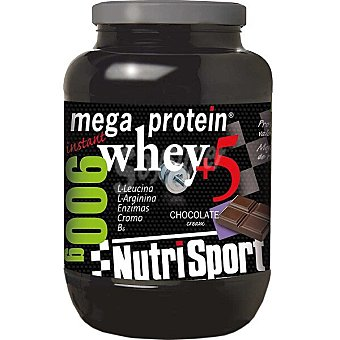 Nutrisport Mega Protein Chocolate proteína de suero lácteo envase 900 g