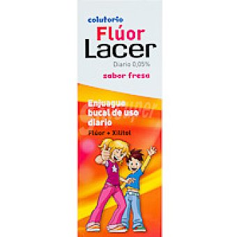Lacer Colutorio diario de fresa Botella 500 ml
