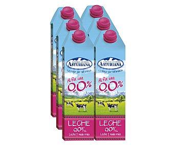 Central Lechera Asturiana Leche desnatada 0% materia grasa CENTRAL LECHERA ASTURIANA 6 unidades de 1 litro 6x1L