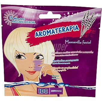 IDC INSTITUTE Mascarilla facial Aromaterapia con aceites esenciales naturales revitaliza limpia en profundidad y relaja Envase 15 ml