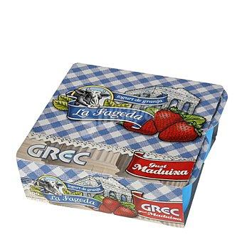 La Fageda Yogur cremoso fresa Pack de 4x125 g
