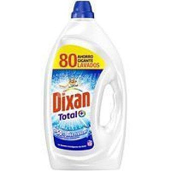 Dixan Detergente en gel total Garrafa 80 dosis