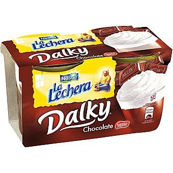 La Lechera Nestlé Chocolate y nata ds. 100 g Pack 2 un
