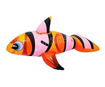 Bestway Colchoneta hinchable con agarradores de seguridad, forma de tiburón y medidas de 157 x 94 centímetros 1 unidad