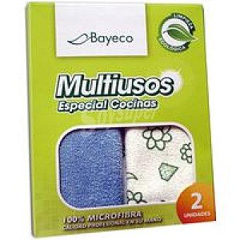 Bayeco Bayeta ecológica multiusos 40x40 cm Pack 2 unid