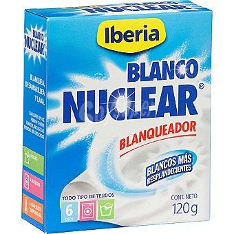 BLANCO NUCLEAR Detergente prendas delicadas en polvo  Caja 6 sobres