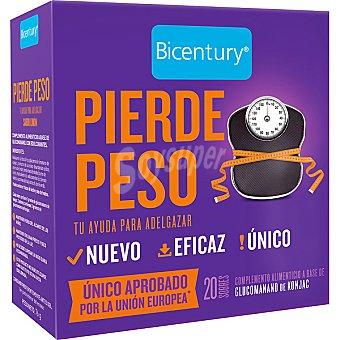 Bicentury Pierde peso complemento alimenticio a base de glucomanano de konjac Envase 76 g