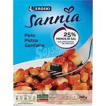 Eroski Sannia Pisto de verduras Bandeja 240 g