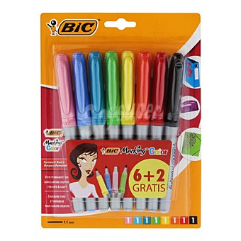 Bic Marcadores Permanentes Colores Deco 8 ud