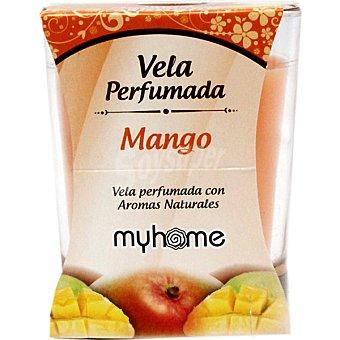 S&S Myhome vela perfumada Mango con aromas naturales vaso 1 unidad Vaso 1 unidad