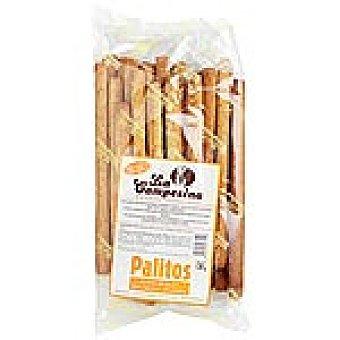 LA CAMPESINA Palitos de pan integrales sin grasa Bolsa 120 g