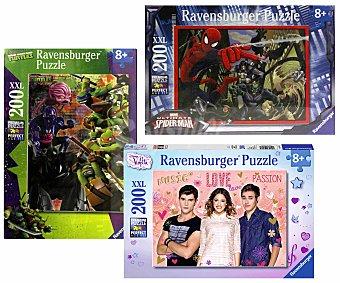 RAVENSBURGER Puzzle Infantil XXL de 200 Piezas 1 Unidad